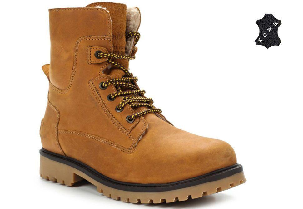 d23be96f0 Зимние мужские ботинки Wrangler Aviator WM122785-71 коричневые ...