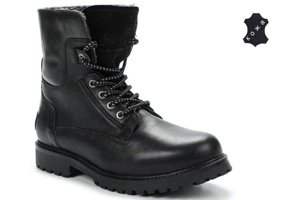31de5b5a4 Зимние мужские ботинки Wrangler Aviator WM122785/K-62 черные купить ...