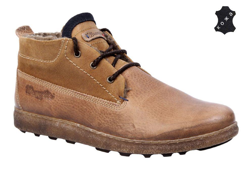 96c5dc232 Зимние мужские ботинки Wrangler Voltage Chukka WM132060/F-93 коричневые