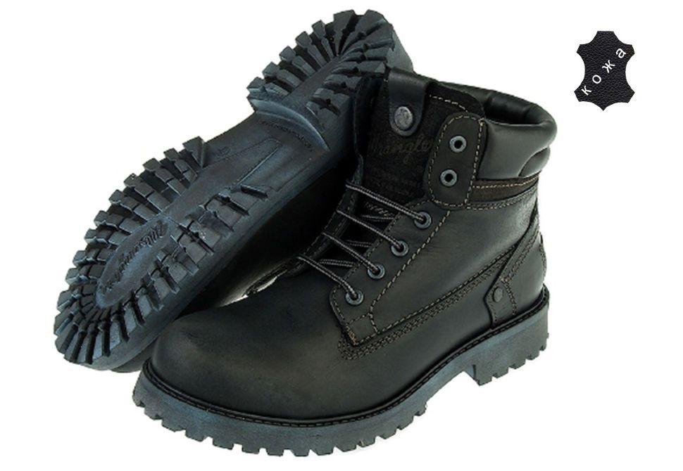 фото ботинки зимние мужские