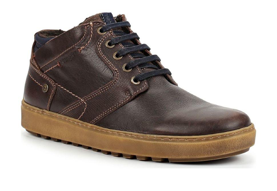 c3bb22c5d Зимние мужские ботинки Wrangler Historic Fur S WM182083-30 коричневые