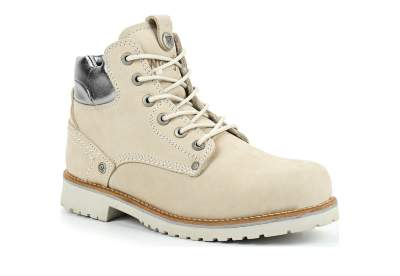 fde6259a Зимние женские ботинки Wrangler Yuma Lady Laminated Fur WL182519-91 бежевые
