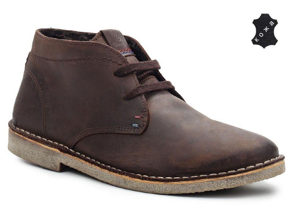 0d0382c58 Зимние мужские ботинки Wrangler Grinder Line Churlish WM142071/F-30  коричневые