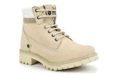 01f75b68 Зимние женские ботинки Wrangler Creek Fur S WL182530-182 бежевые