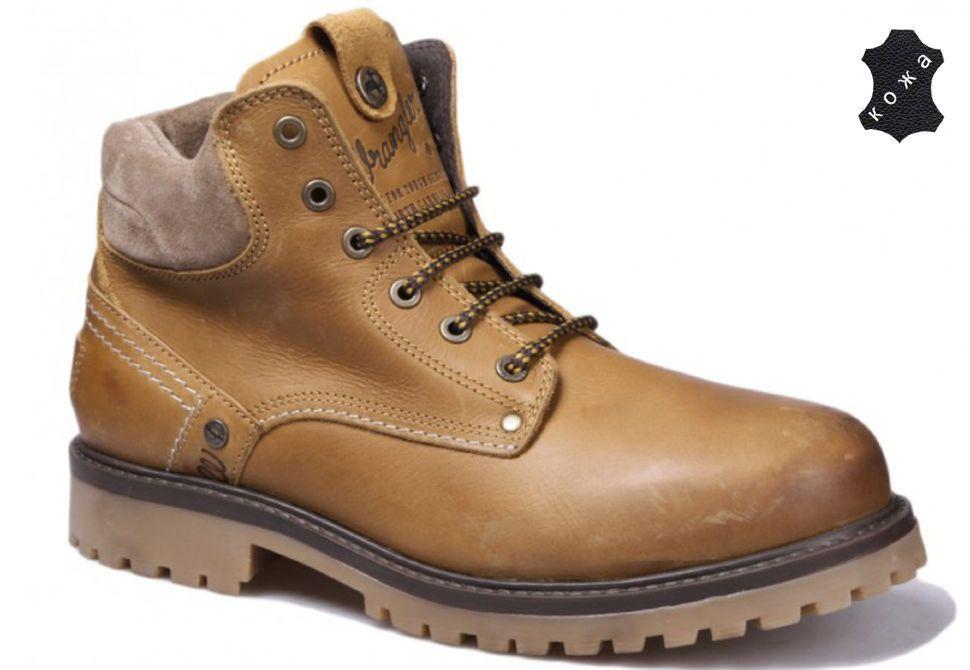67d3eac15 Зимние мужские ботинки Wrangler Yuma Fur WM162002/F-71 желтые купить ...